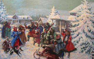 Святая ночь.  две рождественские колядки – ноты и тексты