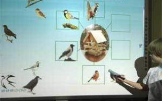 Использование интерактивной доски на музыкальном занятии