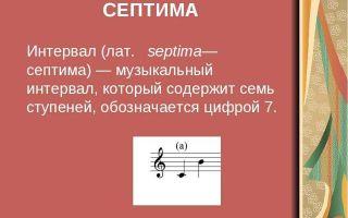 Музыкальные интервалы — первое знакомство
