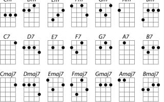 Укулеле — аккорды, основы игры, история. маленькая гитара с большими возможностями