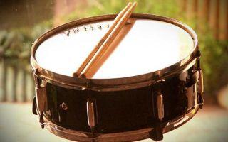 Виды барабанных палочек
