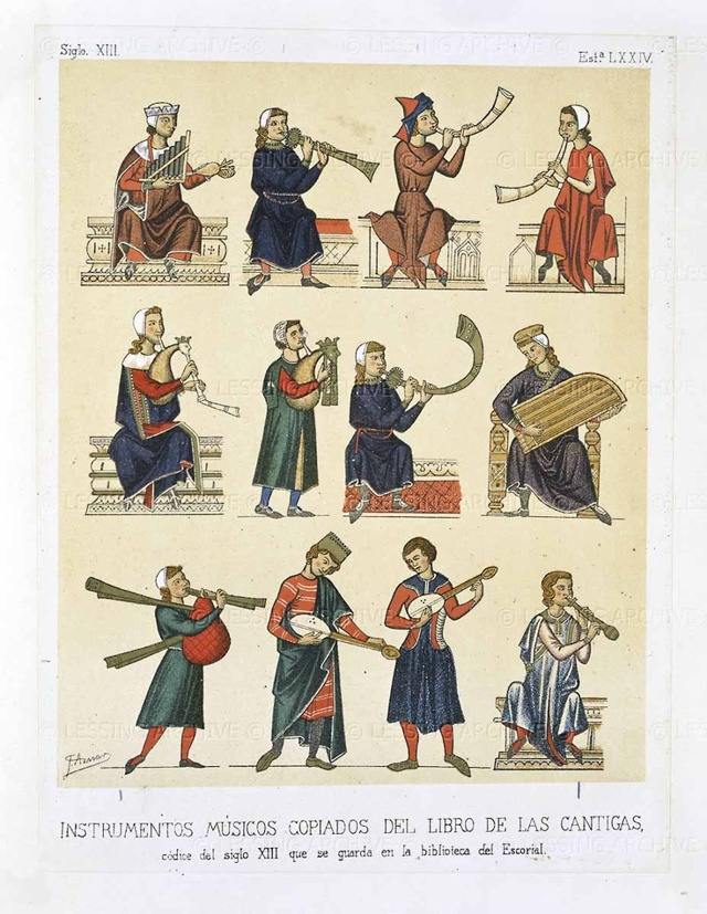 Искусство трубадуров: музыка и поэзия