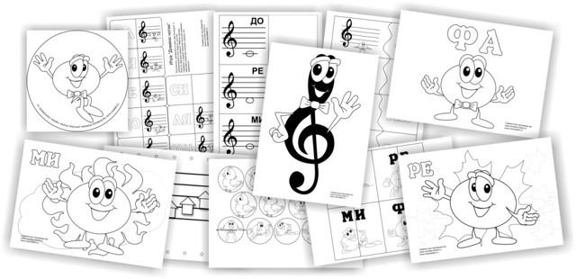 Карточки с нотами на все случаи жизни