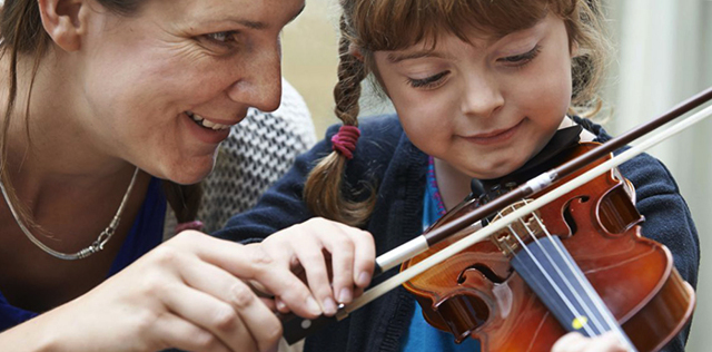 Учитесь в музыкальной школе