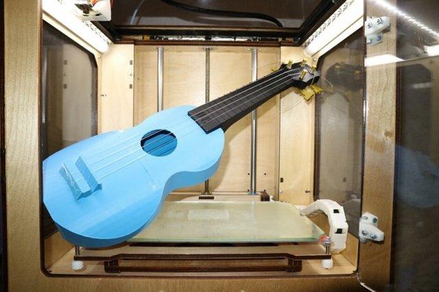 3d принтеры для музыкантов