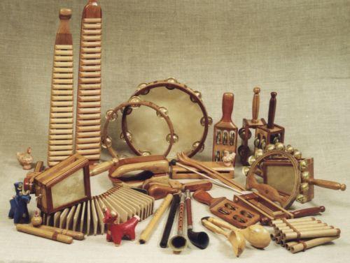 Русские народные инструменты: символичность, классификация, история в именах.