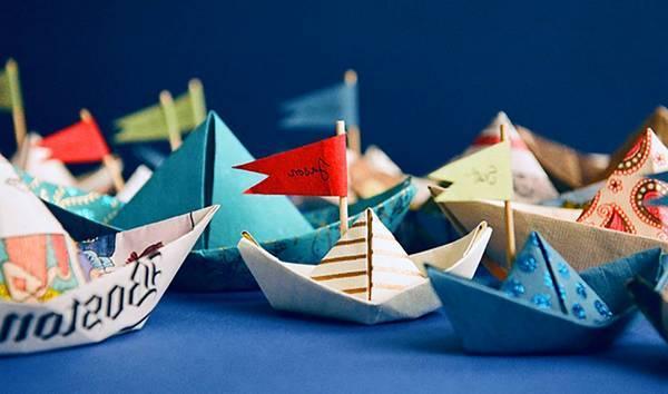 Как сделать кораблик и лодочку из бумаги: детские поделки