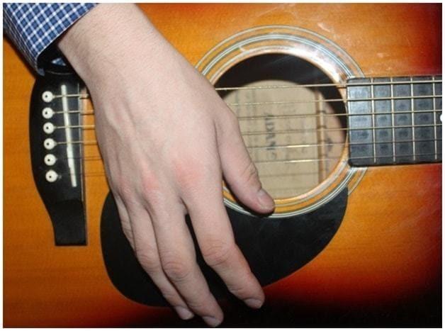 Игра боем на гитаре для начинающих