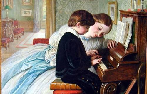 Если задали на дом сочинять музыку!